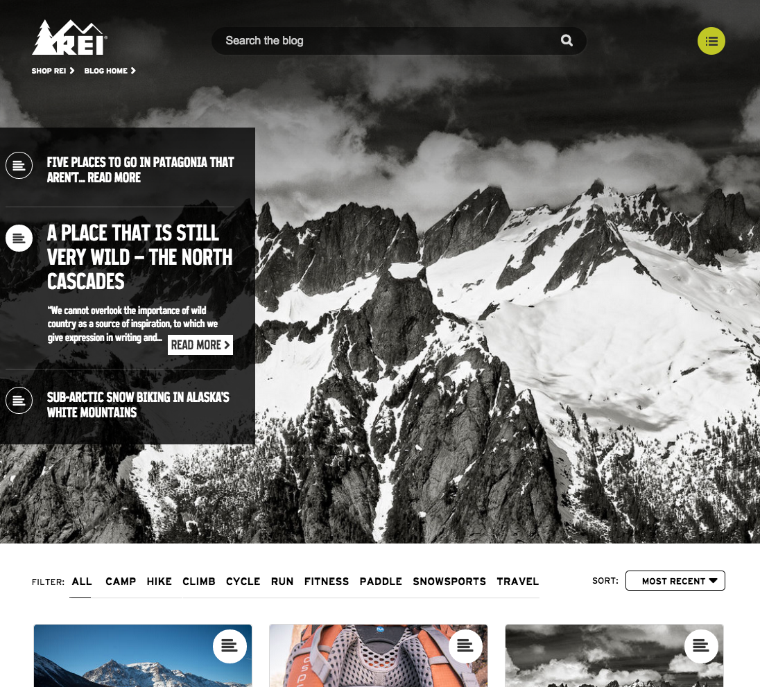 """rei amarketing Jerry stritzke, rei's ceo, also announced that the company would immediately begin a national search for a chief marketing officer """"rei is a compelling brand story in the outdoor retail industry, and we want to share this story throughout the country,"""" stritzke said."""