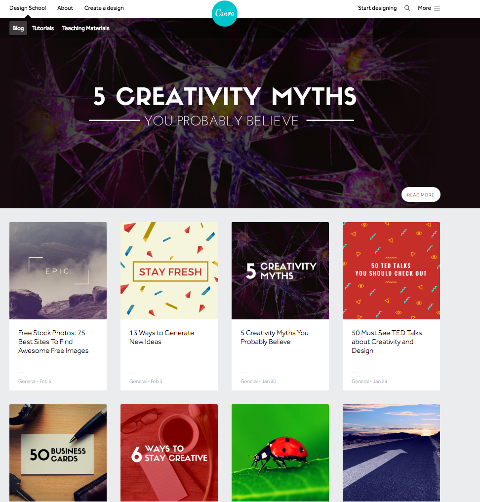 Examples And Teaching Materials Canva