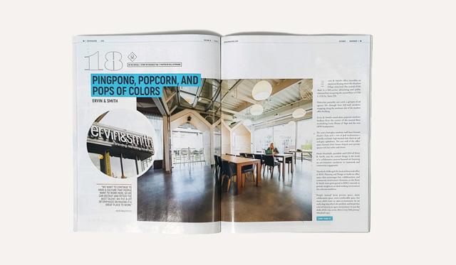 E&S' article in B2B Magazine