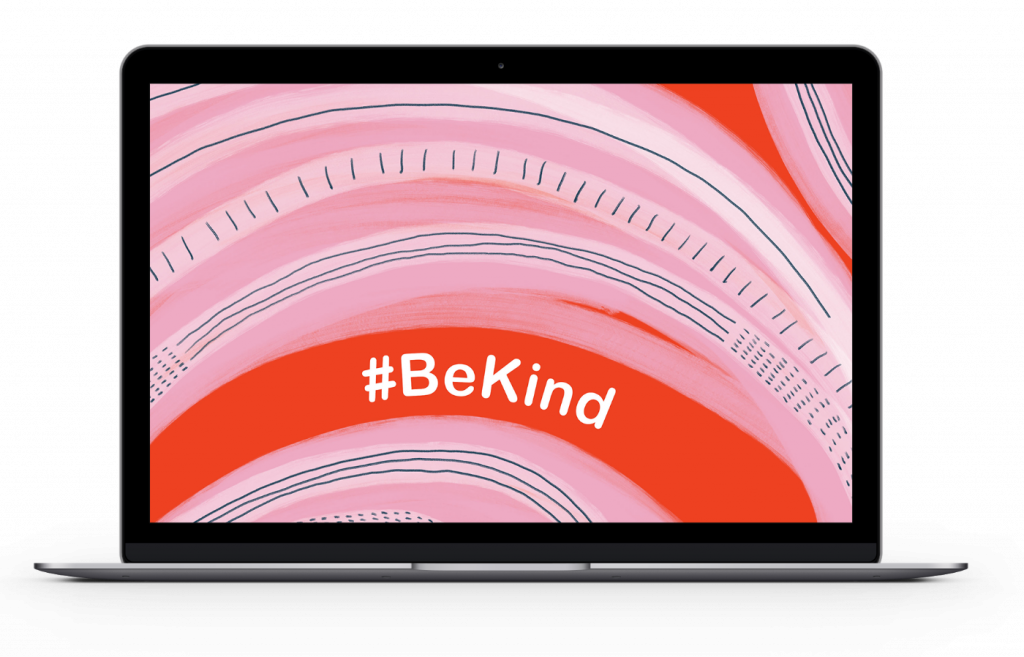 Be Kind screensaver
